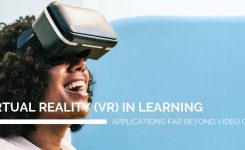 Virtual reality in learning: applications far beyond just video games