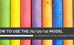 How to use the 70/20/10 model to enhance your learning programs
